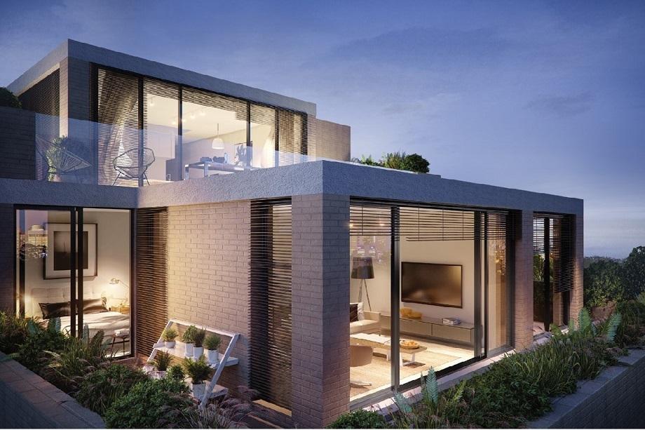 位於悉尼的Portobello是市內為數不多的連層別墅,距離市中心10公里。