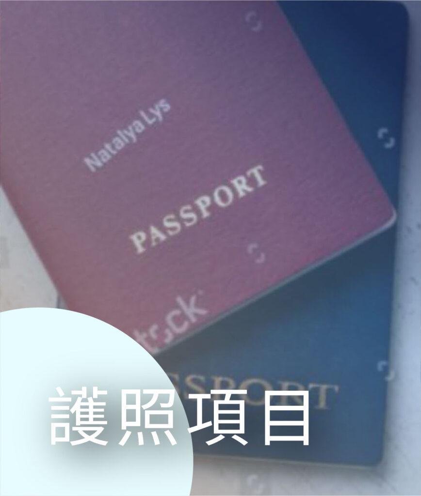 護照項目、投資入籍